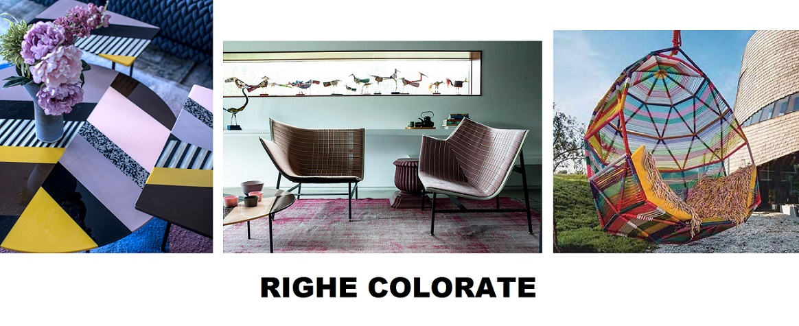righe colorate - DESIGN Fishbone Moroso