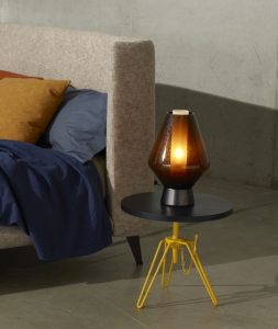 Overdyed Side Table Diesel by Moroso