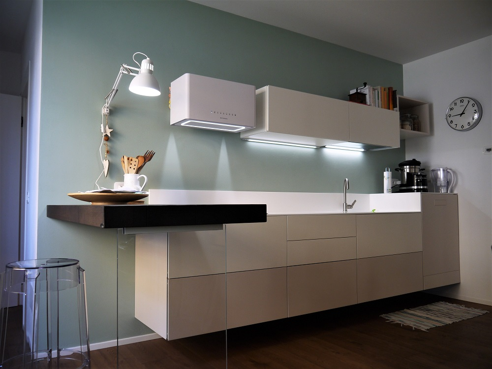 <strong>Kitchen and Living with neutral, light and elegant tones<span><b>in</b>Residential  </span></strong><i>&rarr;</i>